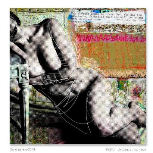 Day dreaming 80x80cm 2012